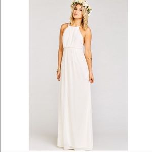 Show me your muni Amanda Maci halter dress